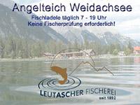 Fischen am Weidachsee